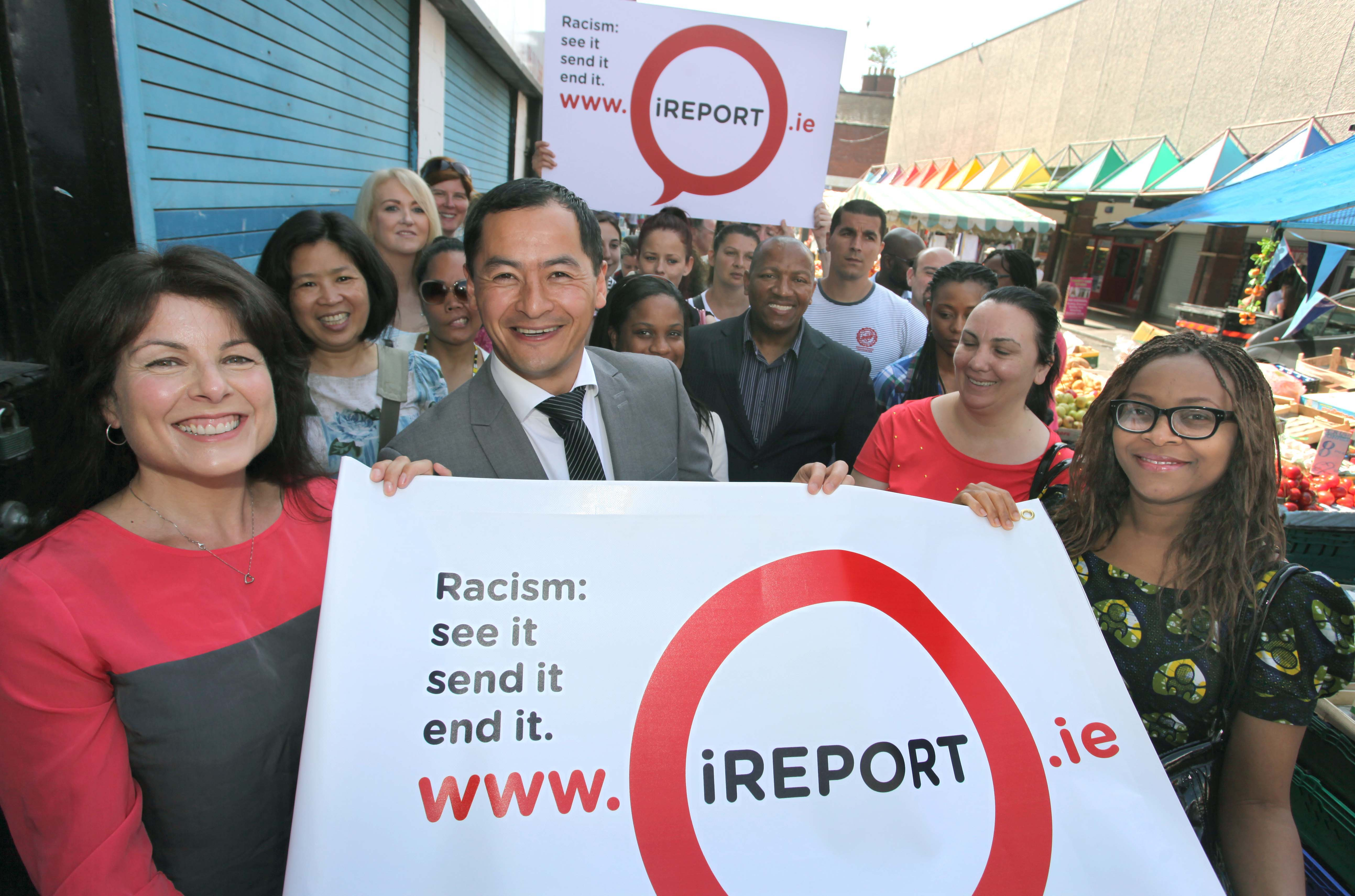 iReport Launch, Moore St, Dublin
