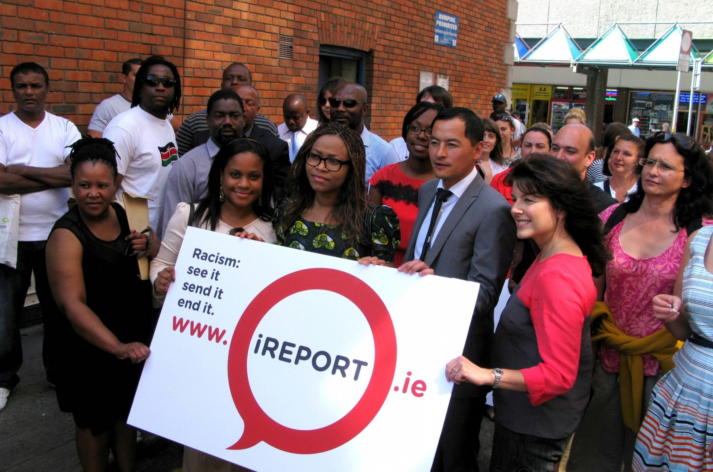 iReport Launch, Moore Street, Dublin