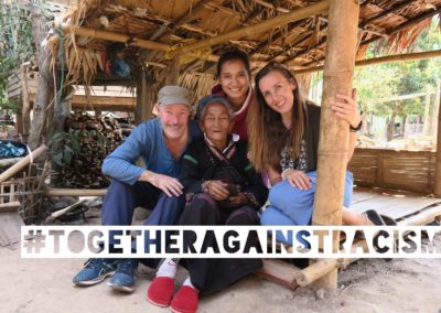 Justyna, Greg and Mone from the Hiker, straight from Laos!