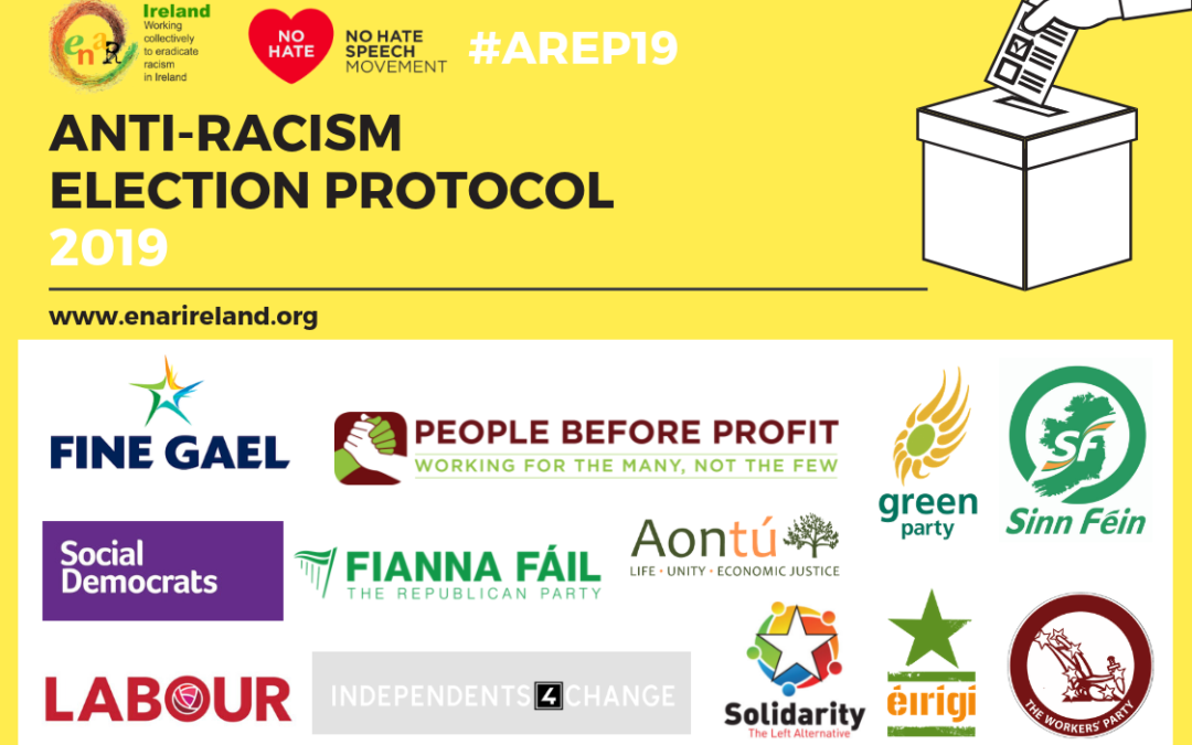 Endorsers of the Anti-racism Election Protocol 2019