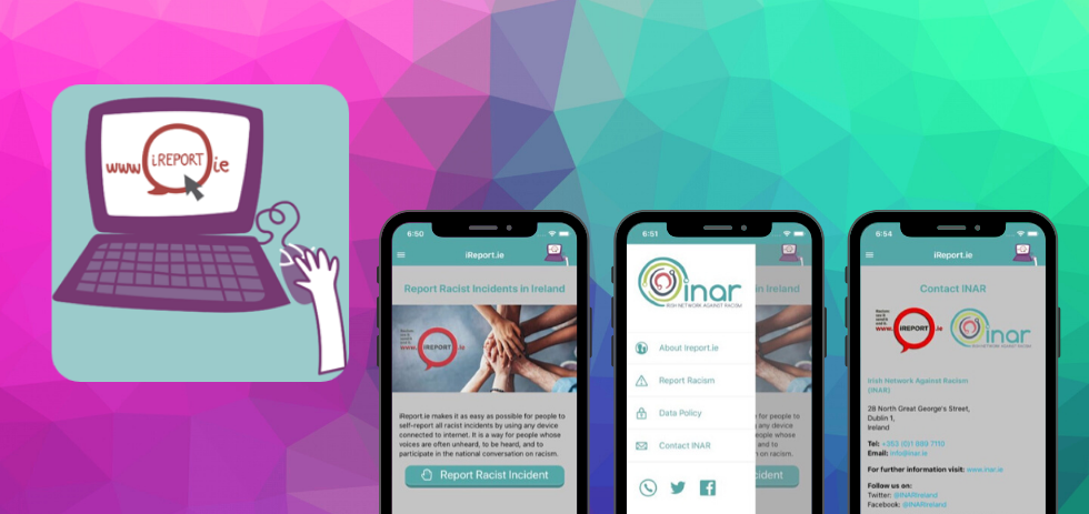 INAR's new iReport App to report racism is here!