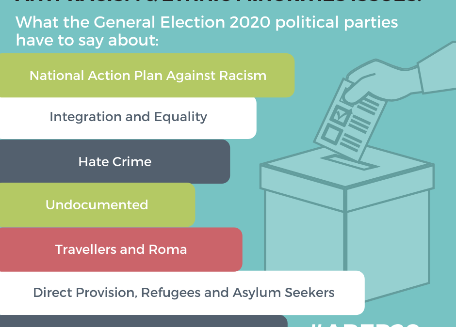 Anti-racism and ethnic minorities: What the general Election 2020 political parties have to say