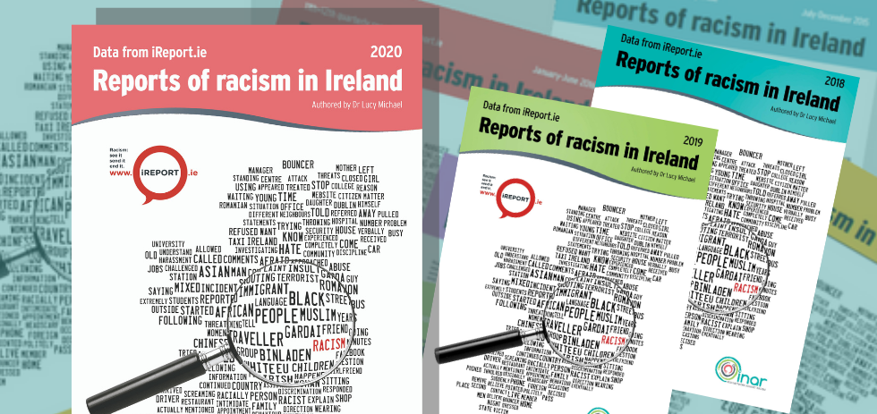 INAR's 2020 iReport.ie Reports of Racism in Ireland